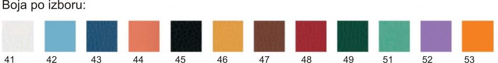 boje stolova 41- 53