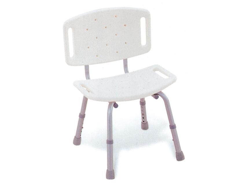 stolica za tuširanje sa naslonom