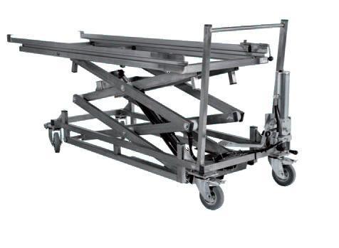 hidraulički lift za lijes