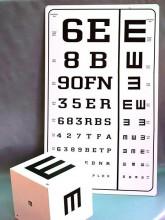 tablica za ispitivanje oštrine vida
