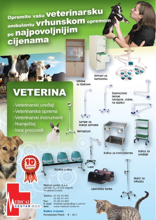Letak veterinarskih proizvoda