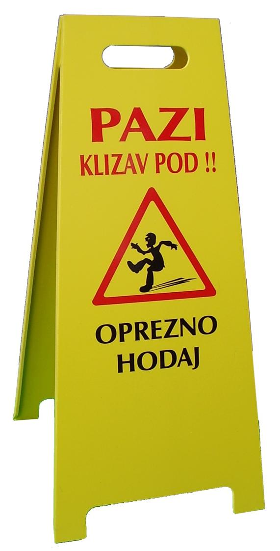tabla klizav pod