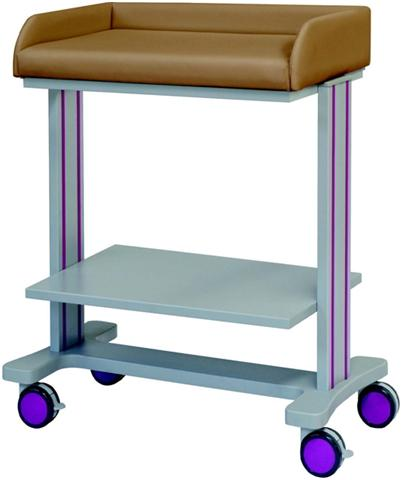 stol za previjanje beba sa policom Exclusive