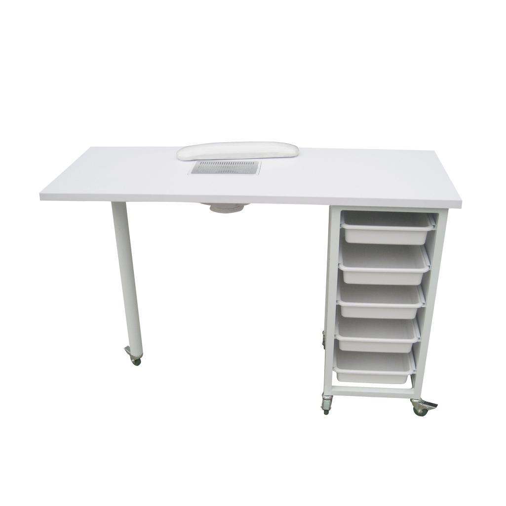 stol za manikuru s ladicama