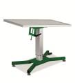operacioni-stol-za-zivotinje-hidraulicki-sa-x-bazom-zeleni