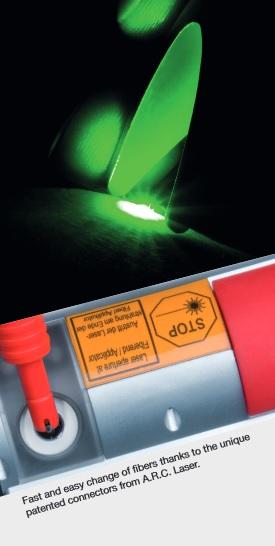 laser vlakno