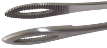 Swab forceps narrow foerster 17174 25   2