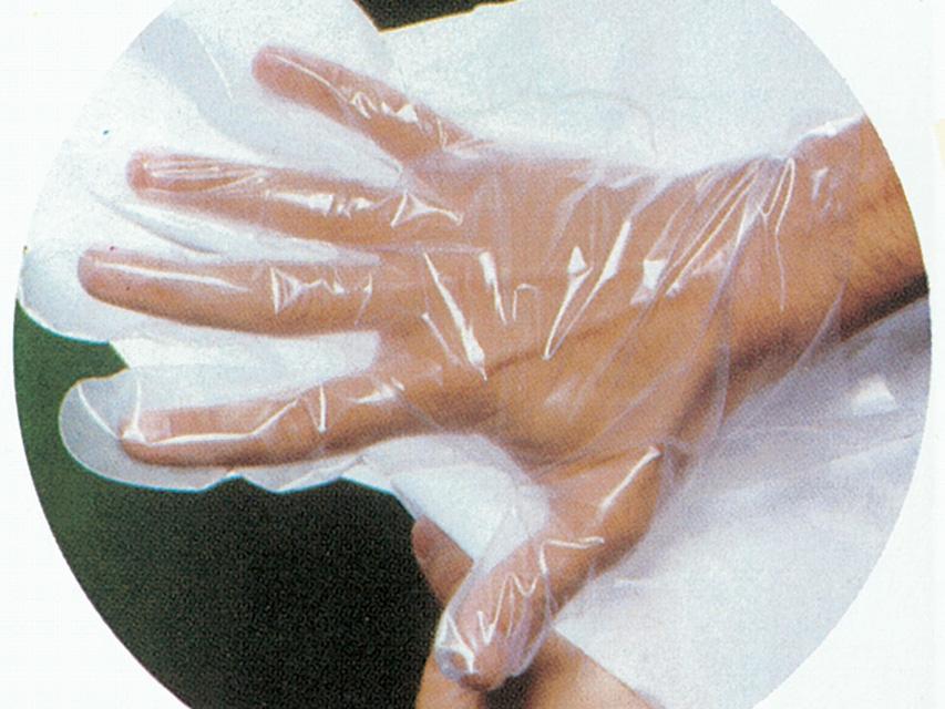 rukavice jednokratne prozirne