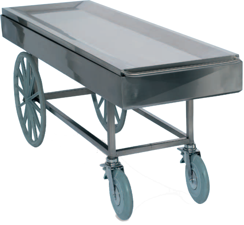 kolica za prijevoz pokojnika na otvorenom