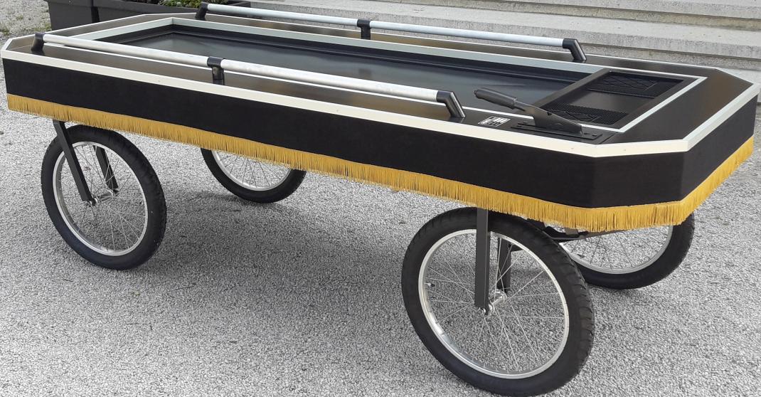 kolica za prijevoz pokojnika
