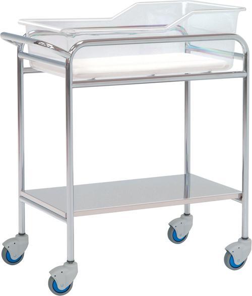 Inox kolica za prijevoz beba